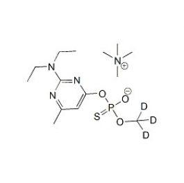 D3-Pirimiphos-methyl-desmethyl TMA salt