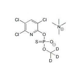D3-Chlorpyrifos-methyl-desmethyl TMA salt