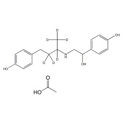 D6-Ractopamine acetate
